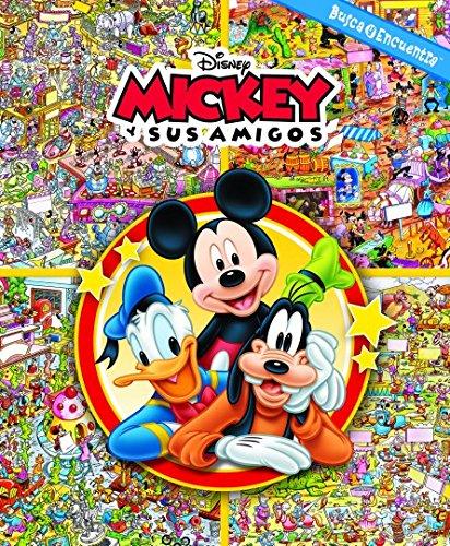 Busca y encuentra. Mickey Mouse: MICKEY Y SUS AMIGOS: 0 (LF