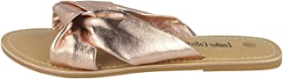 Kidderminster Leather Collection Flat Sandal For Womens