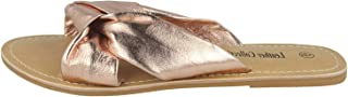 Kidderminster Leather Collection Flat Sandal For Womens, 39EU