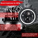 Immagine 2 wisamic 7 pollice led headlight