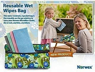 Norwex Reusable Wet Wipe Bag