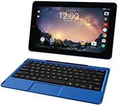 """2018 Premium High Performance RCA Galileo Pro 11.5"""" Touchscreen Tablet Computer with Detachable Keyboard, Intel Quad-Core Processor 1GB Memory 32GB SSD Webcam WiFi Bluetooth Android 6.0, Blue"""