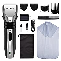 Deals on Tofuls Electric Hair Trimmer w/Haircut Kit and Extra Blade