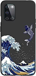 Entaifeng for OnePlus 8T Case,Scratch Resistant Grippy Soft TPU Rubber Full Body Protective Phone Cover for 1+8T (Black/Se...