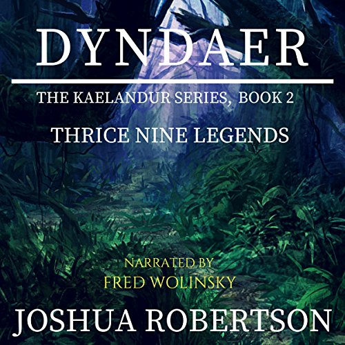 Dyndaer audiobook cover art