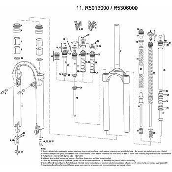 RockShox R501300A Pi/èce de Montage damortisseur