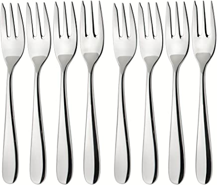 4 Piece Pastry Fork Set 18//8 Stainless Steel Le Cordon Bleu Cutlery