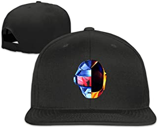 BeatriceBGault Daft Punk Womens Men Hats Baseball Fashion Cap Black
