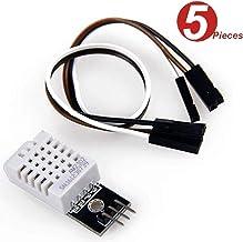 DollaTek 5Pcs DHT22/AM2302 Digitales Temperatur- und Feuchtigkeitssensormodul Ersetzen Sie SHT11 SHT15