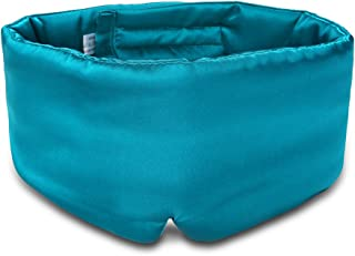 Sleep Mask with Ear Cover, VenusCare Mulberry Silk Eye Mask Large Super Soft & Smooth for Sleeping Travel, Home, Airplane, Relax