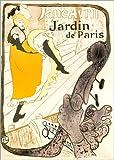 Poster 50 x 70 cm: Jane Avril von Henri de Toulouse-Lautrec