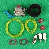 Piezas de repuesto para carburadores Huq Carburador Filtro de aire para Poulan Ght180Le Ght225G Ght220 Seto Trimmer Weedeater Components