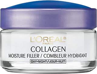 Collagen Face Moisturizer by L'Oreal Paris Skin Care I Day and Night Cream I Anti-Aging..