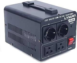 2000 W spanningsomvormer transformator USA converter 110 V naar 230 V / 230 V naar 110 V converter omvormer
