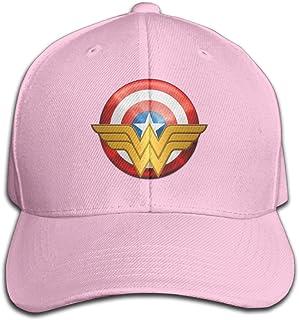 agmpoユニセックスWonderレディースロゴPeaked野球キャップ帽子