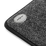 OneConcept Magic Carpet - Heizmatte, Fußheizung, Heizteppich, elektrisch, 75 Watt, 60 x 40 cm, geringer Stromverbrauch, strapazierfähige Teppichoberfläche aus Polyester, Bezug waschbar, grau - 2