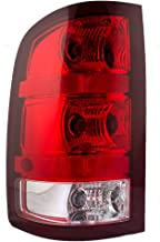 Taillight Tail Lamp Lens Driver Replacement for 08-13 GMC Sierra Pickup Truck 25958484