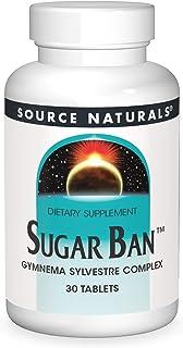 Source Naturals Sugar Ban, 30 Tablets