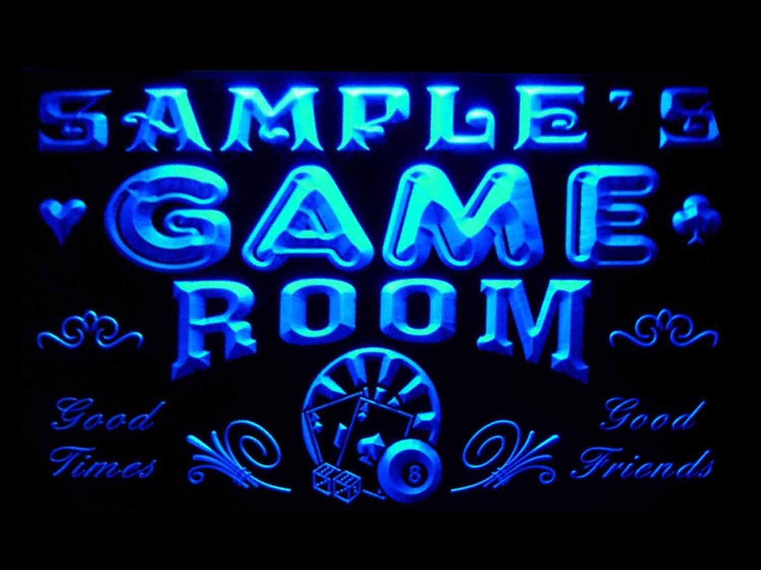 ADVPRO Sales for sale Name Personalized Custom Game Room Washington Mall Cave Neon Bar Beer Man