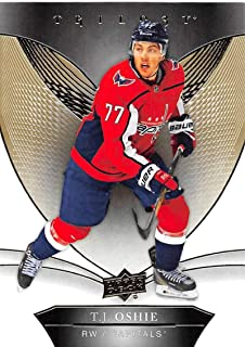 2018-19 Upper Deck Trilogy Hockey #32 T.J. Oshie Washington Capitals Official Trading Card From UD