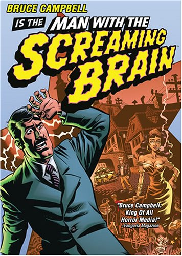 Man with the Screaming Brain [Reino Unido] [DVD]
