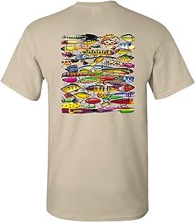 Trenz Shirt Company Fishing Lures Unisex Short Sleeve T-Shirt