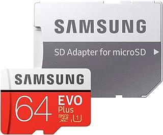 Cartão Memória MicroSD/Micro SDXC 64GB Evo Plus 100MBs Samsung cADAPT