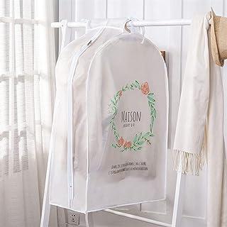 Haute qualité Housses for vêtements transparent Robes Housse imperrespirant anti-poussière Veste sac de rangement for les ...