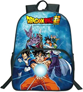 Anime Dragon Ball Z Super Mochila Escolar Estudiante Bolso de Escuela Backpack Mochila para Portátil