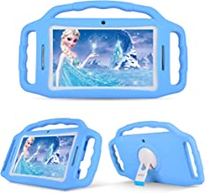 BENEVE Kids Tablet,Kids Tablets with WiFi,7 inch Android Tablet for Kids,Quad Core Processor,Parental Control,7'' HD Display,1GB+8GB,Dual Camera,Games,Kid-Proof Tablet(Blue)
