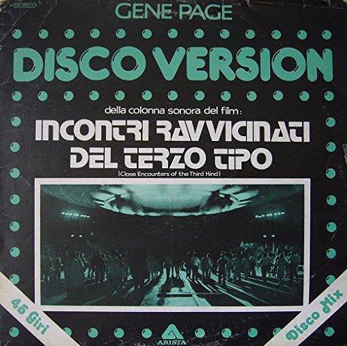 """3C05260421Z 12"""" Incontri Ravvicinati Del Terzo Tipo Disco Version VINYL"""