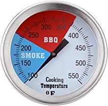 50 Mm 100-550 ° F Horno Termómetro Cocina Alimentos Carne Dial Indicador De Temperatura