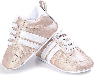 Geagodelia Sneakers Moda Neonato Sneaker Presepe Ragazzo e Ragazza Baby Scarpe Con Suola Morbida in Pizzo