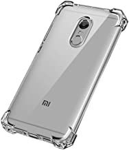 JGD PRODUCTS Anti Shock Soft TPU Back Bumper Corners and Air Cushion Technology transparent case cover for Redmi Mi note 4 (2017/2018)