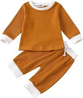 Sunnymi - Conjunto de ropa de manga larga para niños de 0 a 4 años
