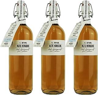 33,66€/l Birkenhof Alte Kirsche 3 x 1,0 Liter in Bügelflasche