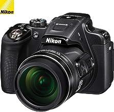 $279 Get Nikon COOLPIX P610 16MP Digital Camera w/Full HD Video, WiFi, GPS - Black (26488B) - (Renewed)