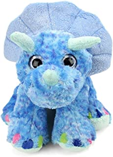 "Wild Republic Sweet & Sassy Triceratops Plush 12"", Blue [13442]"