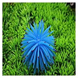 Plantas artificiales Brillantes alegres de medusas artificiales de coral, acuario de coral, planta de coral artificial, paisaje submarino, peces, tanque de acuario Accesorios Hermoso, fuerte y durader