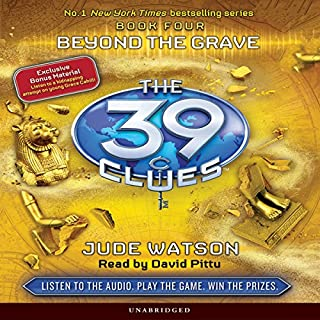 The 39 Clues, Book 4     Beyond the Grave              Auteur(s):                                                                                                                                 Jude Watson                               Narrateur(s):                                                                                                                                 David Pittu                      Durée: 4 h et 37 min     1 évaluation     Au global 5,0