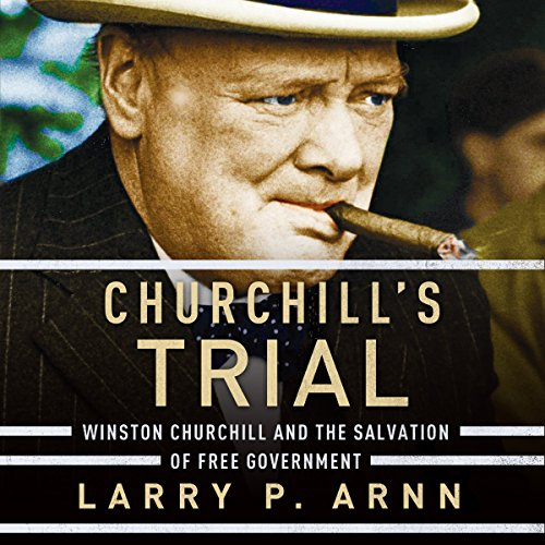 Churchill's Trial audiobook cover art
