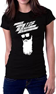 UD Gate ZZ Top Rock Band Logo Texas Women's T-Shirt
