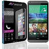 Urcover® 9H Festigkeitgrad Echt Glas Folie kompatibel mit HTC Desire 816 Bildschirmschutzfolie Panzerfolie Schutzfolie