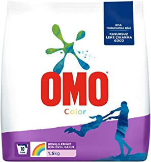 Omo Color Renkliler İçin Toz Çamaşır Deterjanı, 1.5 Kg, 10 Yıkama