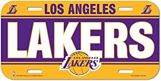 WinCraft NBA Los Angeles Lakers License Plate
