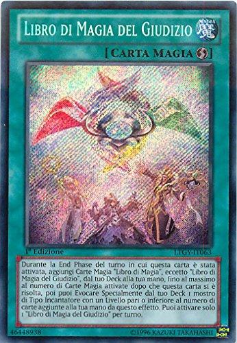 Yu-Gi-Oh! - LTGY-IT063 - Libro Di Magia Del Giudizio - Il Signore della Galassia Tachionica - Unlimited Edition - Segreta