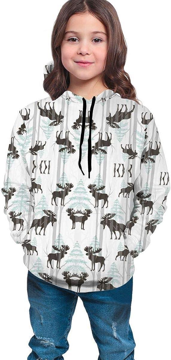 YongColer Boys & Girls Drawstring Hoodie Sweatshirts Pullover Slim Tunic Top Blouse
