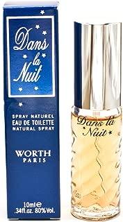 Dans la Nuit by Worth for Women 0.34 oz Eau de Toilette Purse Spray