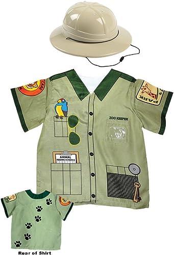 orden en línea Aeromax My 1st Career Gear Zookeeper Shirt and and and Pith Helmet (2 Piece Bundle) by Aeromax  Entrega directa y rápida de fábrica