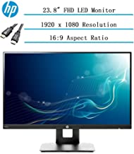 """$169 » 2020 Newest HP 23.8"""" Full HD (1920x1080) IPS LED PC Computer Monitor for Business Student, Build in Speaker, VESA Mounting, Tilt, HDMI, VGA, 5ms, 16:9 Aspect Ratio, 178°, w/Ghost Manta 4K HDMI Cable"""